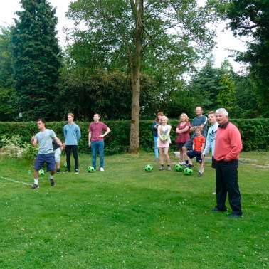 Foot-Golf at Bruntwood