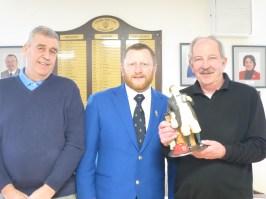 Jack Hetherinton Trophy winners Jeff Clapperton and Jim Roberts
