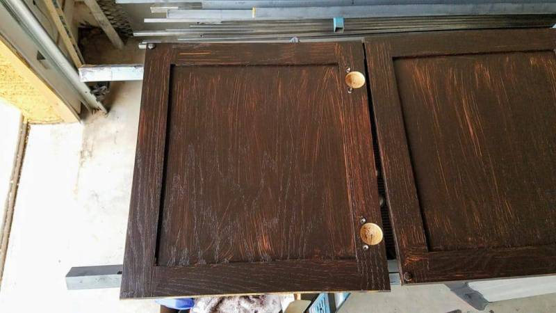 The cabinet doors were especially scary! Help me!
