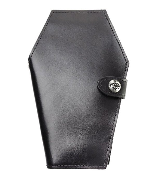 How cool is this coffin wallet? Functional and fashionable!