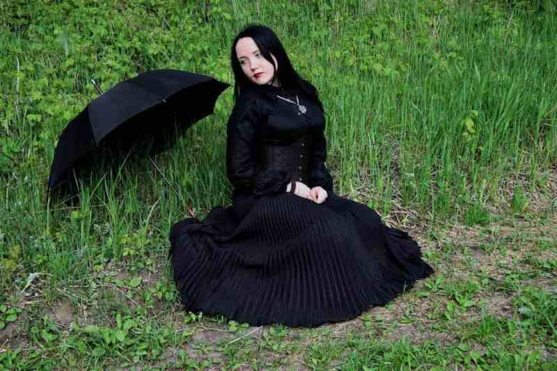 Goths are not always depressed. We just like to dress that way.