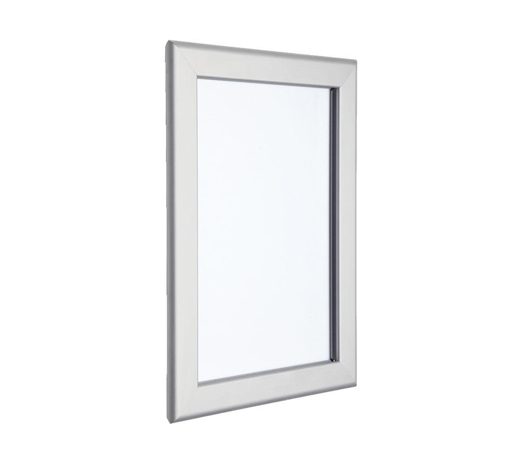 silver poster frames a5 a0 aluminium silver snap frames