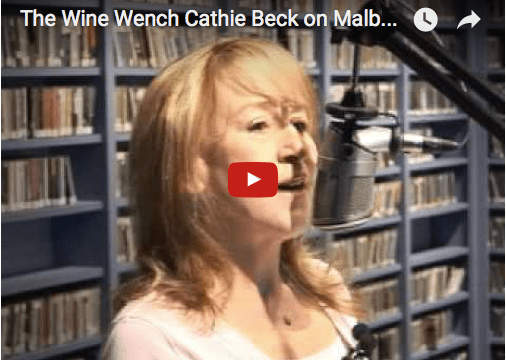 The Wine Wench Cathie Beck on Malbec wines