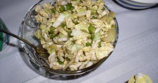 "Savoy Cabbage ""Relish Salad"""