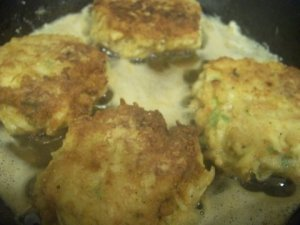 Crab Cakes from leftover crab