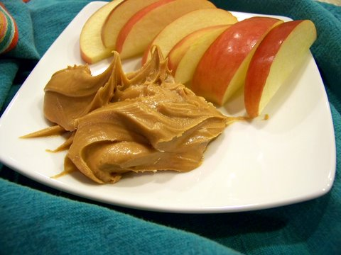 Sliced Apples and Peanut Butter: A Teenager's New Favorite Snack