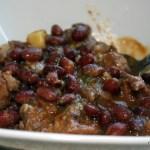 Caribbean Red Bean and Pork Stew