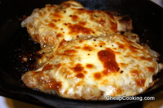 Shepherd's Pork Chops: Smothered in Onions and Provolone