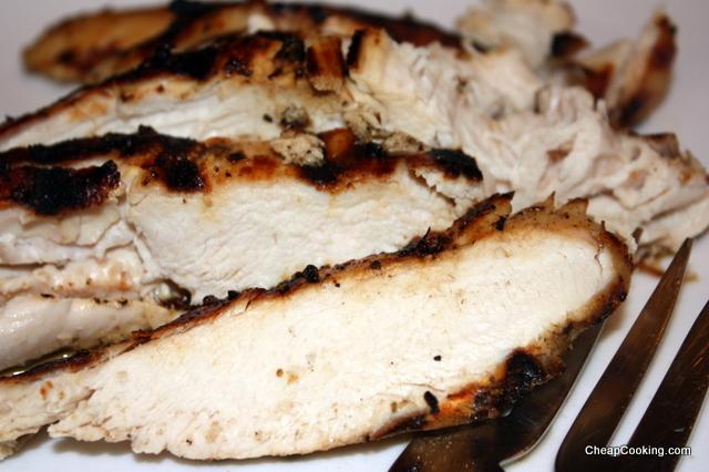 Greek marinated grilled chicken