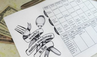 Menu Planning – Free Downloadable Planner