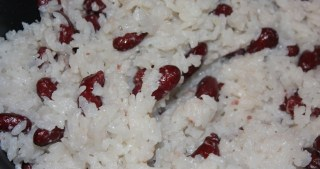 Red Beans and Coconut Rice – Rice Cooker