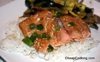 Sesame Ginger Salmon
