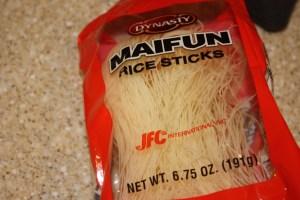 rice noodles rice sticks