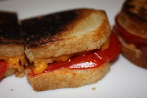 grilled cheese + BLT