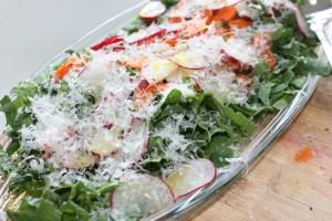 Arugula, Radish and Carrot Salad