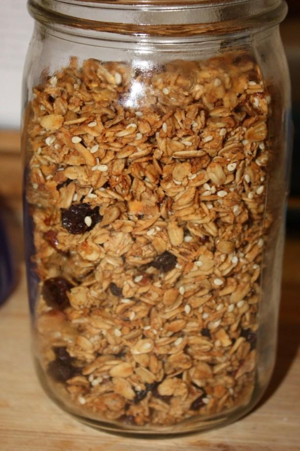 small batch granola