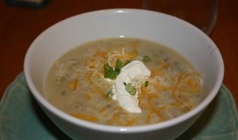 Potato Soup with a Kick