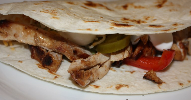 Chicken Fajitas and Guacamole
