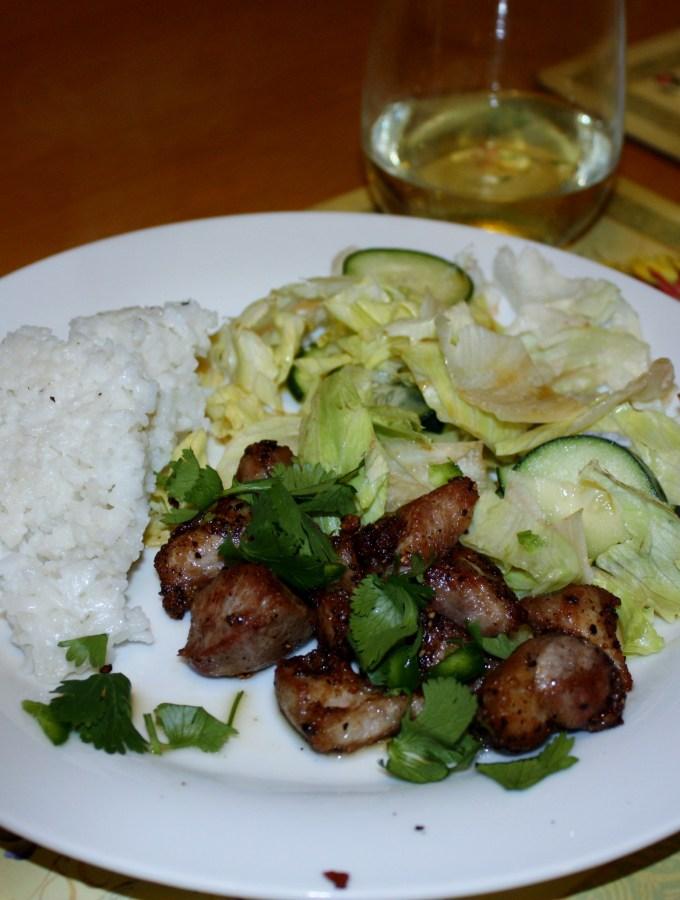 Crispy Salt and Pepper Pork