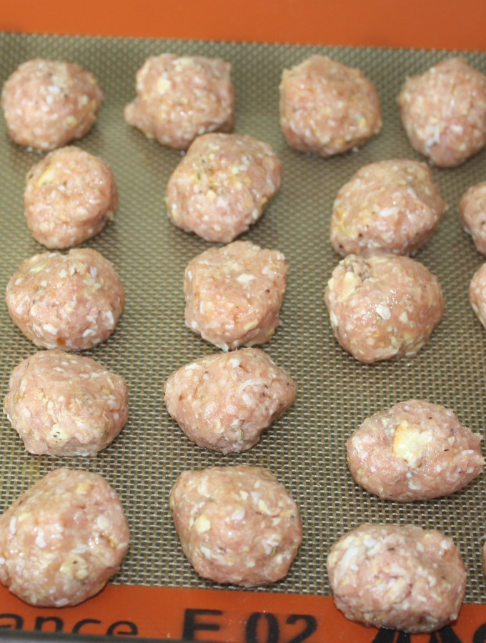 how to flash freeze meatballs