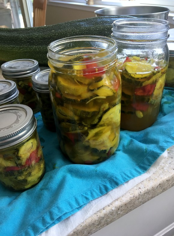 Sweet Zucchini Pickles