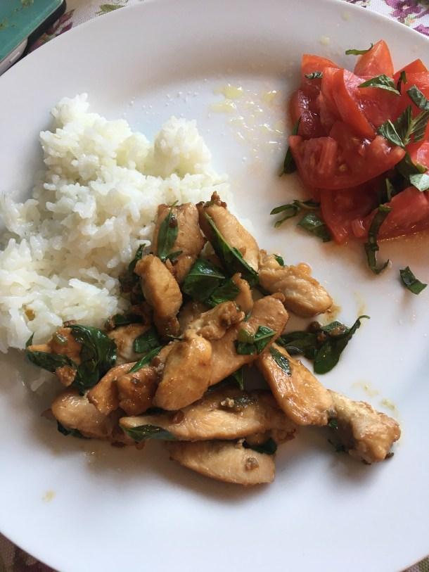 Chrissy Teigen's Basil Chicken