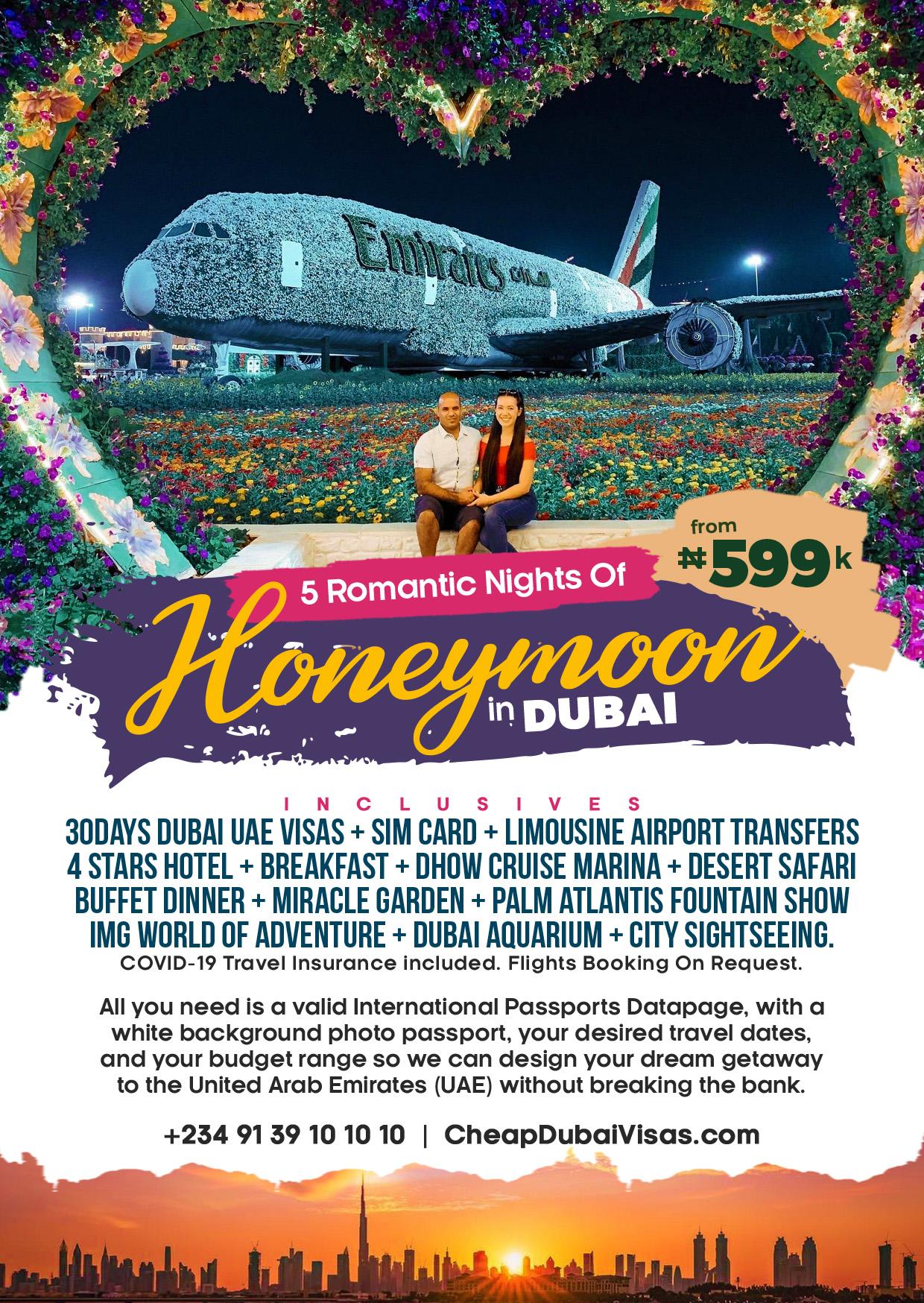 Dubai Honeymoon Packages Cheap Dubai Packages a Cheap Dubai Visas