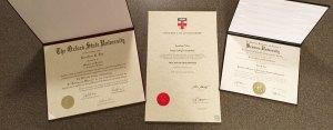 Diploma Sizes - 8.5x11, 11x14 & 11x17