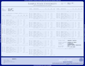 COLLEGE TRANSCRIPT TEMPLATE // T03-NAVY