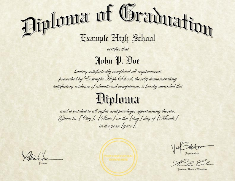 how to get high school diploma replacement