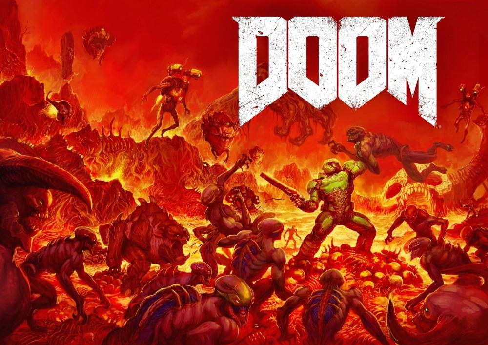 THE BEST HORROR GAMES FOR PS4 - DOOM