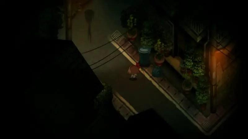 Yomawari-review-girl-in-street