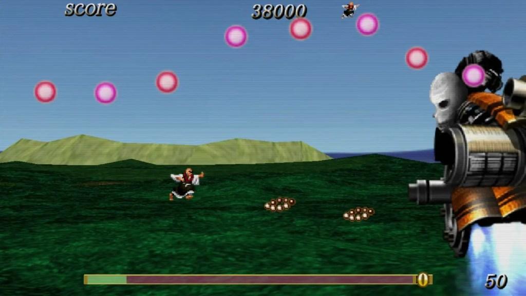 Psikyo Shooting Stars Bravo Review Samurai Aces 3 boss
