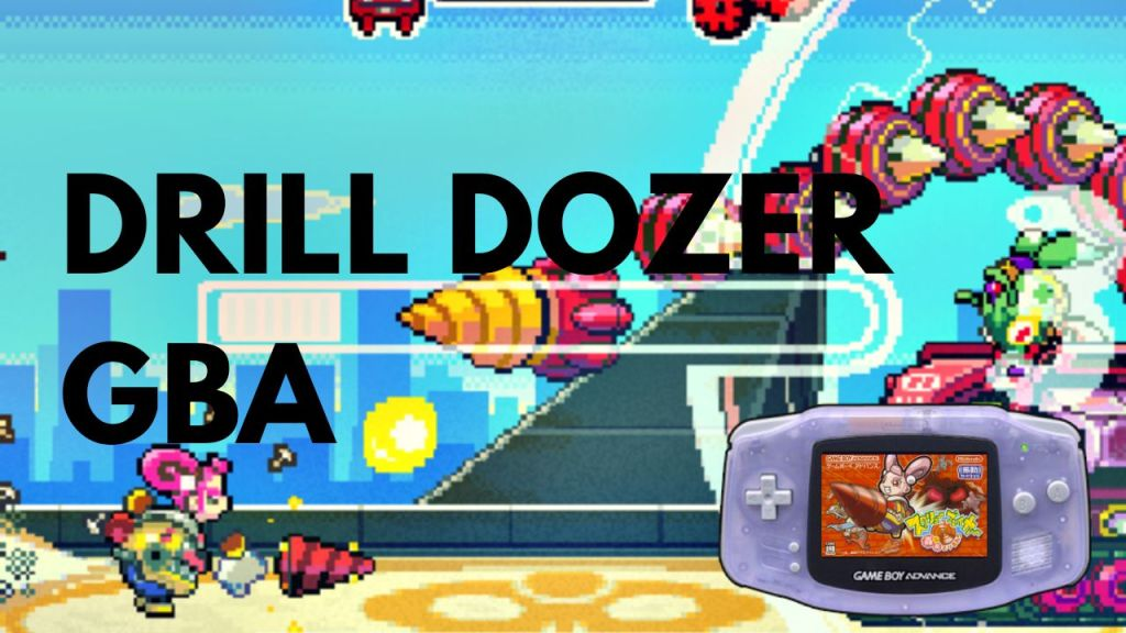 Drill Dozer review GBA