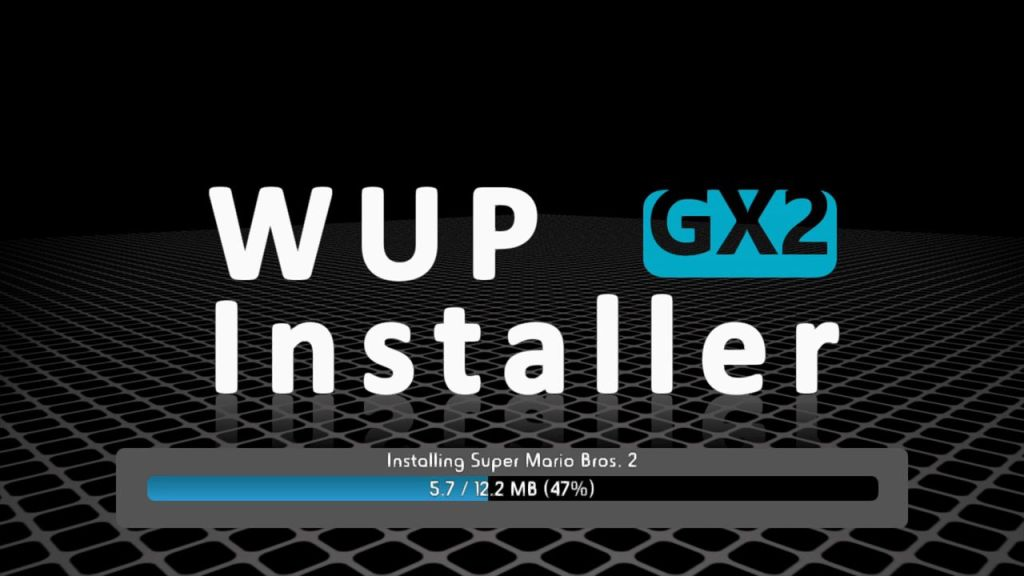 WUP INSTALLER GX2 NES INJECTION