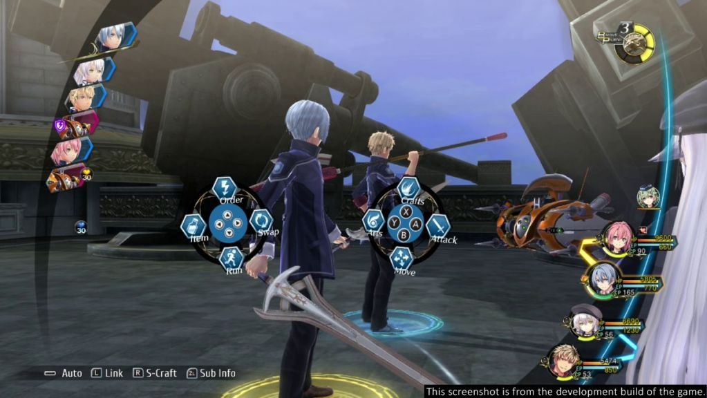 trails of cold steel 3 Nintendo Switch Review