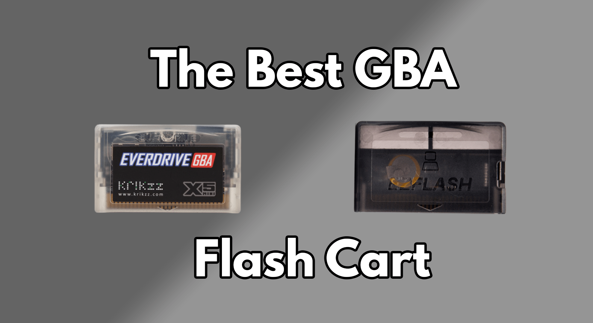 GBA Flash Cart Feature image