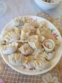 Finished dumplings (uncooked)