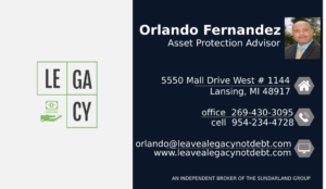 Orlando Fernandez, Michigan Final Expense Insurance Advisor, Agent and Broker