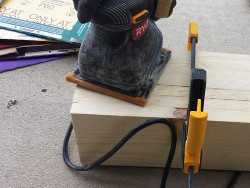 Construccion de una mesa de centro de madera