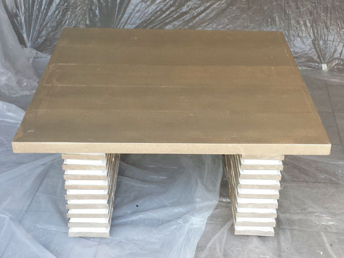 Construccion mesa de centro de madera