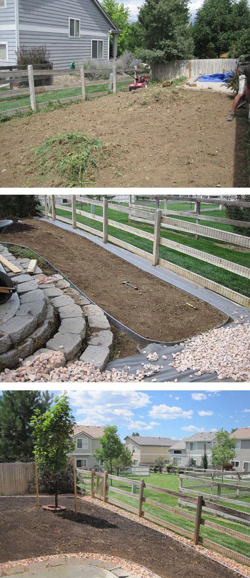 Backyard Landscaping Makeover
