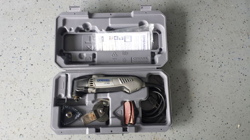 The Dremel oscillating tool is a must have home improvement tool, it is a very versatile tool