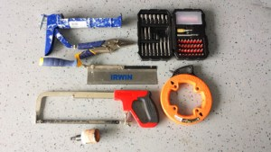 Some of the essential home improvement tools I use to complete my projects