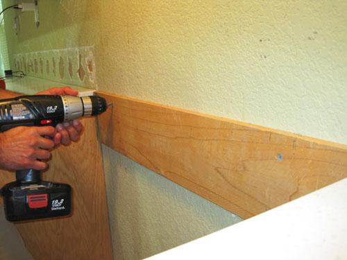 Wall Preparation For A Tile Backsplash  No Sanding