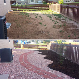 low maintenance, low water, no grass landscaping