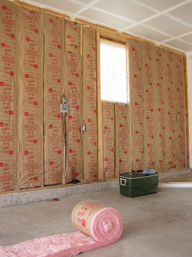 How To Finish A Garage How We Insulated And Drywalled Our