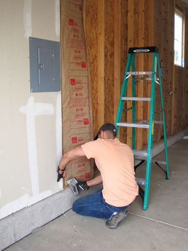 to how garage insulating efficiency insulate for drywall energy remov walls increased insulation removing without the