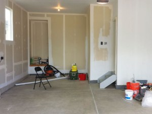 How We Primed And Painted Our New Garage