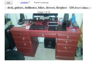 Building A DIY Home Office Desk From An Old, Ugly & Cheap Desk
